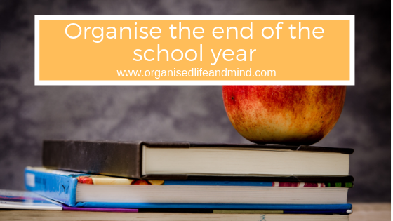 Organise end school year