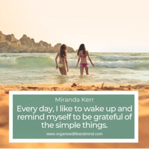 7 Grateful simple things Saturday quote