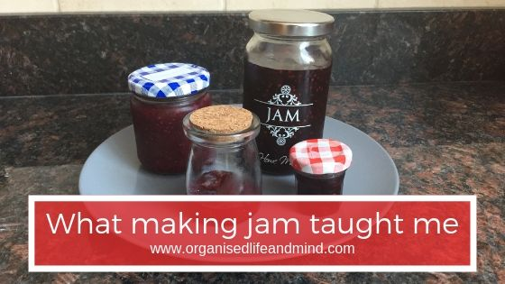 Making jam taught me