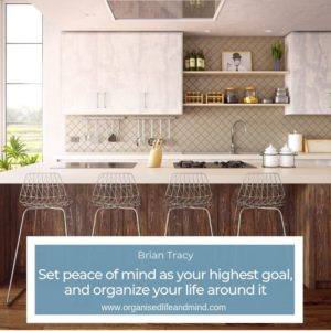 Peace of mind Brian Tracy moving home stress