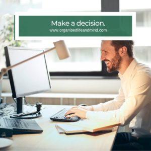 Make a decision Inbox Zero