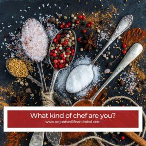 chef kitchen utensils