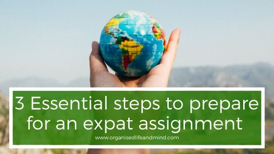 3 steps expat assignment