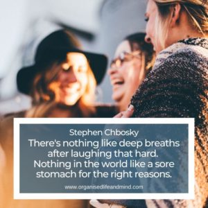 Laughing hard Saturday quote