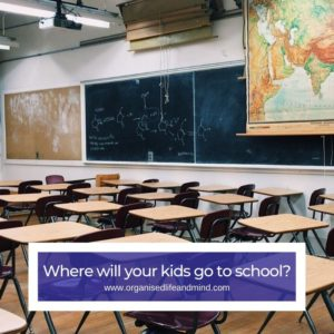 School expat assignment