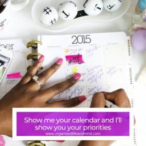 Show me your calendar