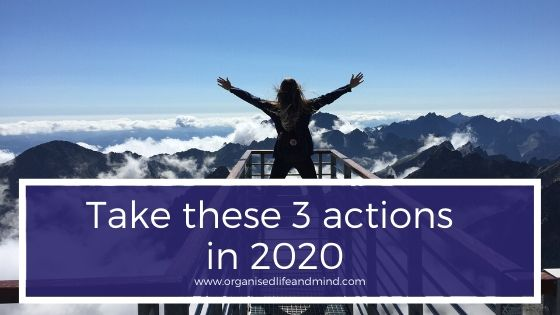 Take these 3 actions in 2020