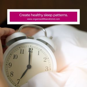 Healthy sleep pattern