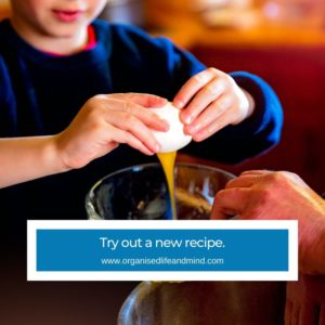 Try out a new recipe