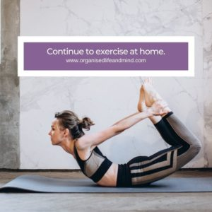 Continue to exercise