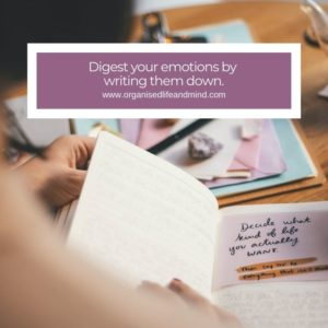 Digest your emotions during lockdown