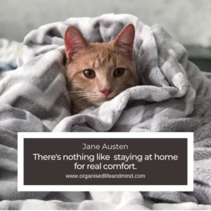 Stay at home quote